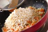 発芽玄米パエリアの作り方2
