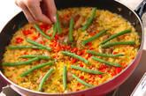 発芽玄米パエリアの作り方15