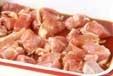 鶏肉のショウガ焼きの下準備1