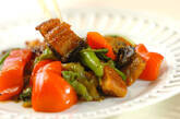 ウナギとパプリカの炒め物の作り方8