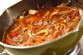 半熟卵のせハヤシライスの作り方7