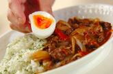 半熟卵のせハヤシライスの作り方4