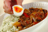 半熟卵のせハヤシライスの作り方8