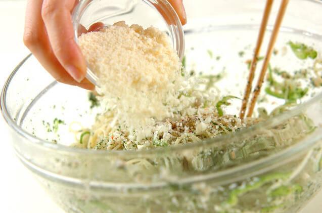 カニ缶スパサラダの作り方の手順4