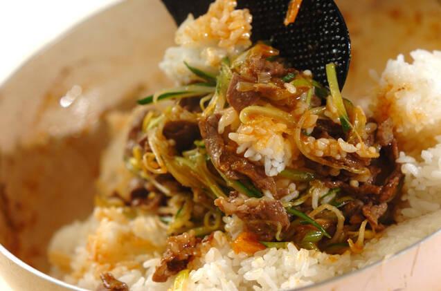 ビビンバ風ご飯の作り方の手順10