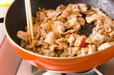 豚納豆炒めレタス包みの作り方2