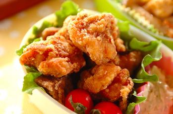 鶏の唐揚げユズコショウ風味