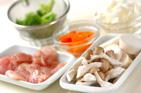 チキンとエビのクリーム丼の作り方2