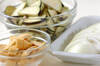 ナスのみそ汁の作り方の手順1