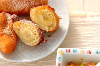 バナナの揚げ菓子