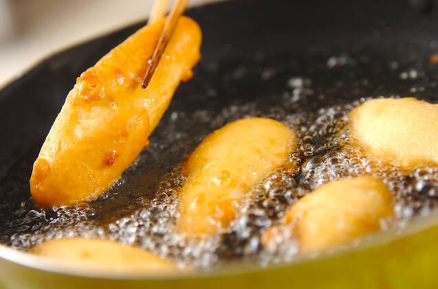 バナナの揚げ菓子の作り方の手順4
