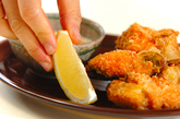 甘塩鮭の串揚げの作り方2