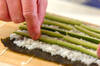 バラの飾り巻きの作り方の手順8