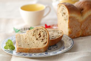ミントティー食パン