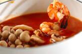 海鮮鍋~トマト鍋~チーズニョッキの作り方13