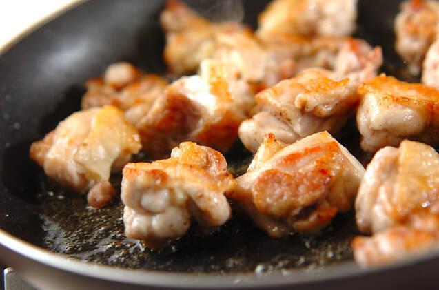 鶏肉の簡単コーンクリーム炒め煮の作り方の手順5