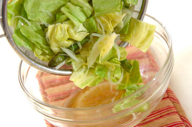 春野菜ユズコショウマリネの作り方の手順3