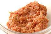 シイタケハンバーグの作り方2
