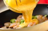 ソラ豆のクリームフジッリの作り方3