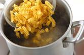ソラ豆のクリームフジッリの作り方2