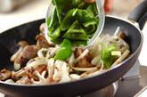 レバーと玉ネギのピリ辛炒め丼の作り方5