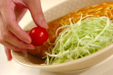 高菜オムレツの作り方5
