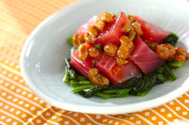 簡単スピードメニュー!「まぐろ納豆」の作り方・レシピの画像