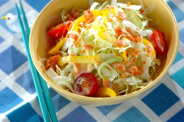 細切り野菜サラダ