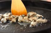 白菜とカキのカレーグラタンの作り方1