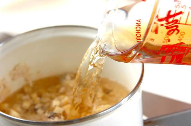 ひき肉入りスープの作り方の手順6
