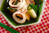 イカと豆腐の煮物
