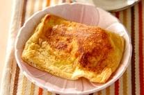 温泉卵とチーズの揚げ焼き