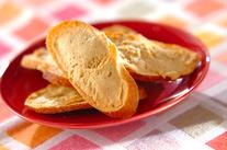 ピーナッツバターラスク