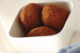 白花豆のココアまぶし