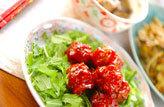2. 甘酢肉団子