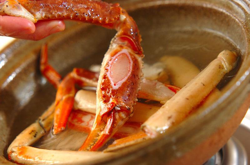 カニ鍋の作り方10
