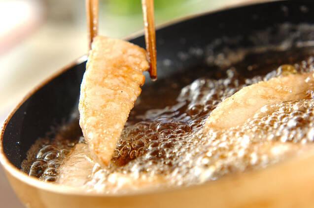 タケノコのから揚げの作り方の手順3