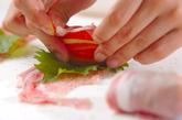 豚肉のロールフライの作り方1