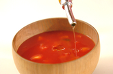 すりおろしトマトスープの作り方2