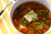 ナメコのスープ