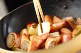 剣先イカのバターしょうゆ炒めの作り方4