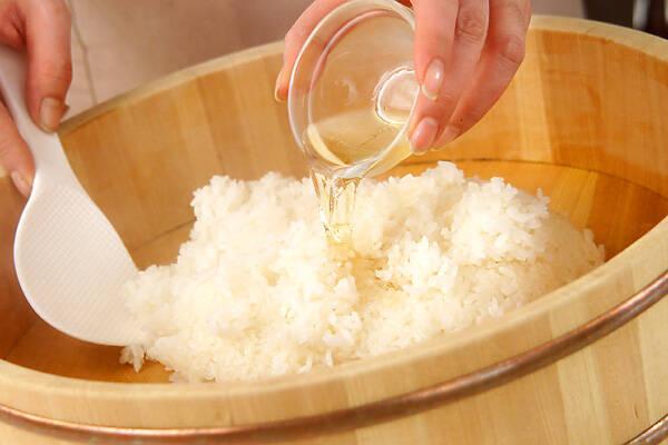 手まり寿司の作り方の手順1