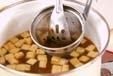 豆腐の赤だしの作り方1