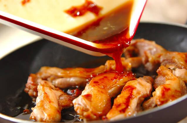 照り焼き鶏の和風生春巻きの作り方の手順5