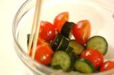 キュウリのピリ辛山椒和えの作り方1