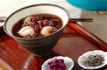 小豆の白玉ぜんざい