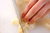 白キクラゲのデザートの下準備1