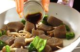 ちぎりコンニャクのピリ辛炒めの作り方2