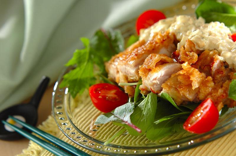 鶏肉の主菜メニュー