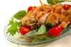 フライパンでできる揚げないチキン南蛮の作り方の手順5